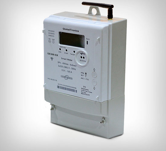 GE300-SXGSM Series – Class 0.5 s – Advanced Three Phase Electronic Smart Meter (CT Connected)