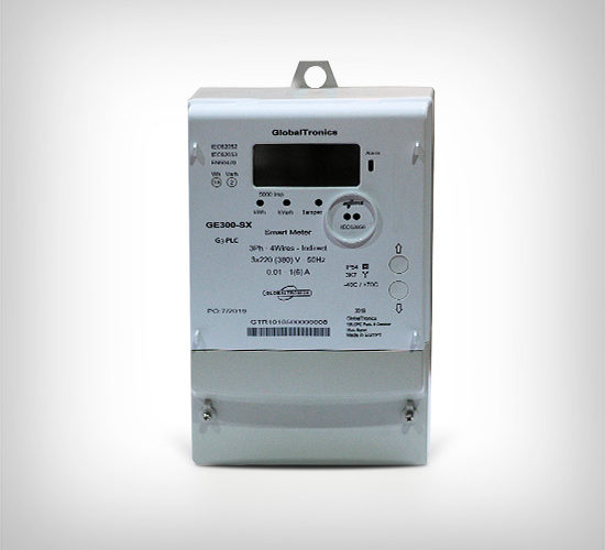 GE300-SXPLC Series – Class 0.5 s – Advanced Three Phase Electronic Smart Meter (CT Connected)
